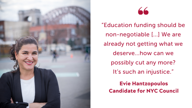 Evie Hantzopoulos quote on Education